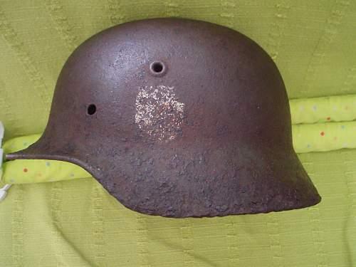 M40 Relic Helmet from Tallinn-Estonia!