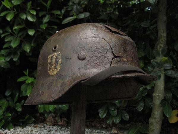 A few helmets