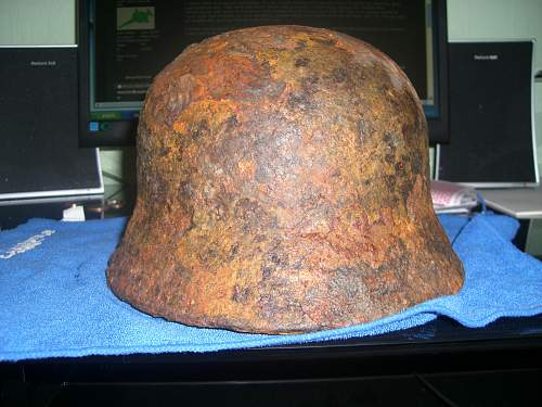 M40 Luftwaffe relic: should i use acid?