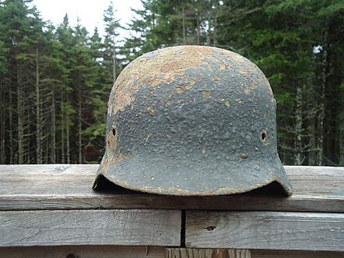 DD M35 relic after cleaning