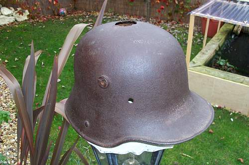 my m1916 stalhlhelm relic