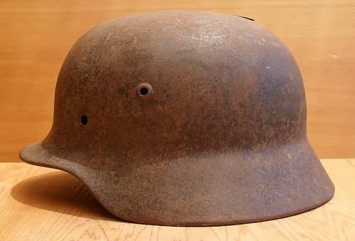 Battle damaged M35 - Normandy?