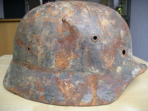Relic camo helmet