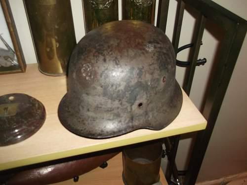 My New German Helmet