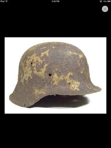 Ww2 remain relic helmet