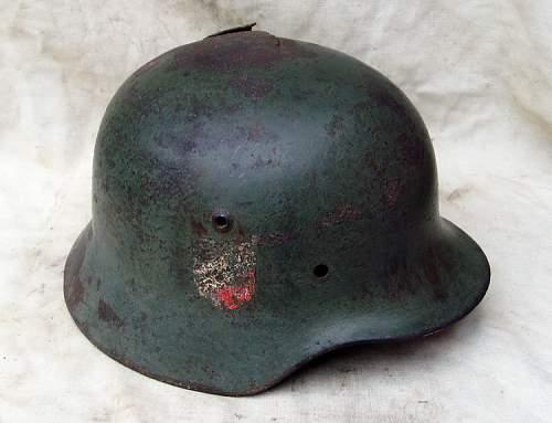 Relic luftwaffe helmet
