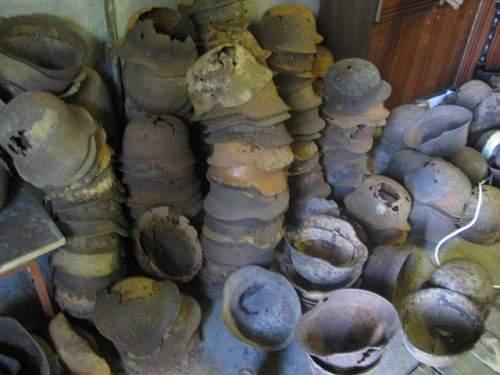 Relic german helmets