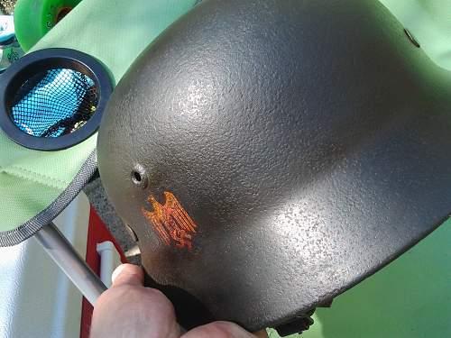 Helmet authentication