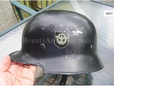 Police/Fire Helmet.  Opinions please