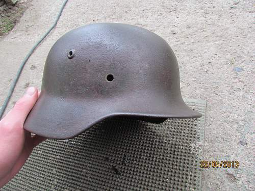 My first Stahlhelm, what do you think of it?