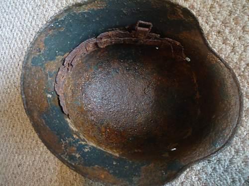 Relic M35 DD helmet reissue