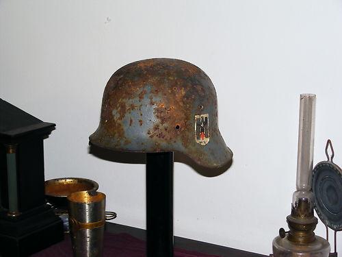"""A """"relic"""" DRK helmet ........not"""