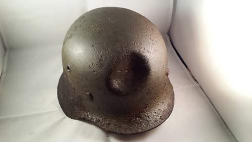 M35 with non penetrating hit
