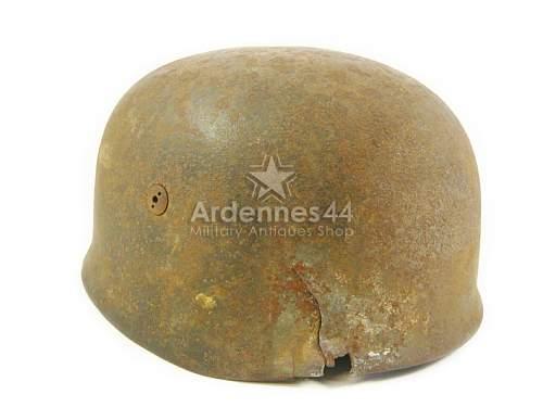 Para helmet battle of the bulge