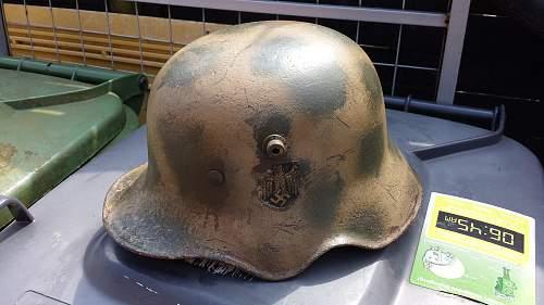 normandy m18 earcutout helmet