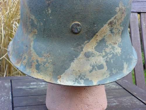 Stahlhelm M42 Normandy relic !!!!
