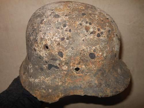 Relic Helmet, Winter Camo?