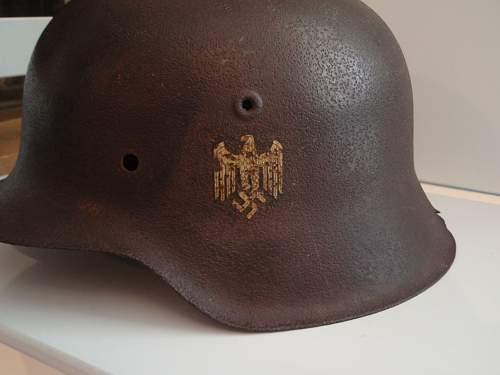 My relic SD  Helmet (first)