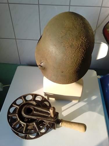 Relic Helmet from Hungary