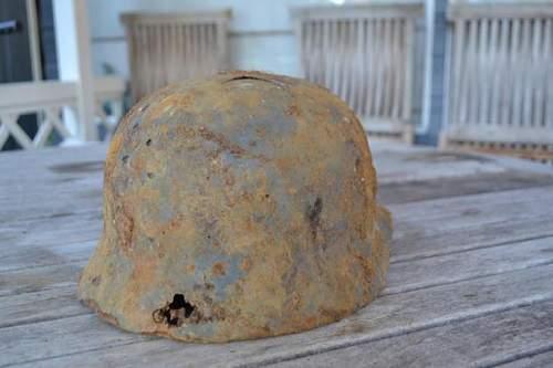 Authentication Relic Luftwaffe helmet.