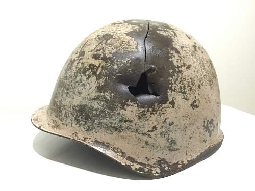 Gren.Rgt.595 ID'd Helmet