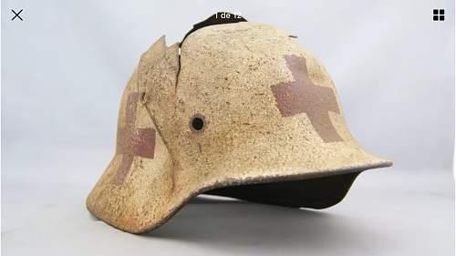 Relic m40 medic helmet