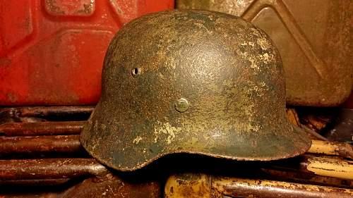 M40 ET64 single decal battle damaged relic