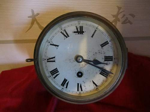 Smiths Ships Clock WW2