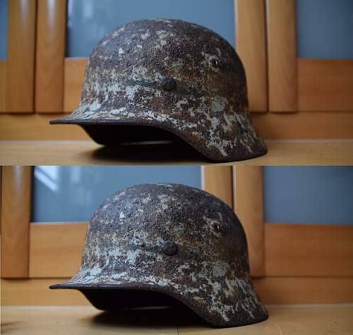 Can i clean this winter camo helmet? How?