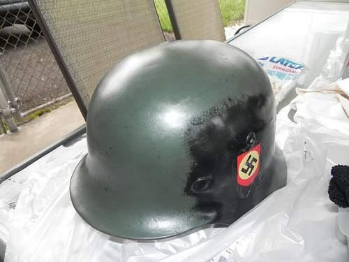 M35 Helmet Restoration
