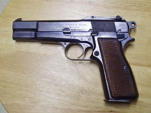 Pistole 640 (b) questions on refurbishment