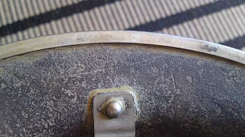 Restoration of an British MKII helmet