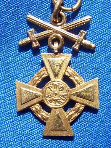 Orders and Medals repair