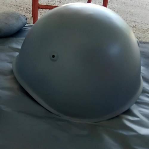 M-33 Italian Helmet Restoration