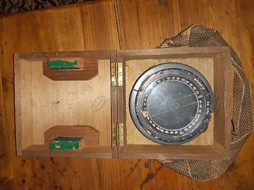 Old P8 RAF compass restoration?