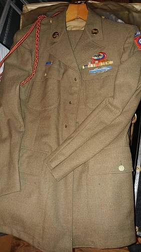 Can i get moth holes fixed on my Grandfather's uniform?