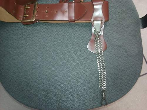How to treat Verdigris on US 1911 magizine pouch leather