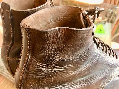 M37 low ankle boots restoration