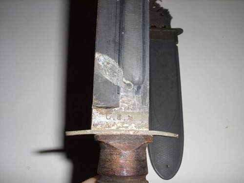 Need help...restoring a beat to hell knife