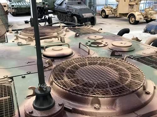 Panther Antenna Parts.