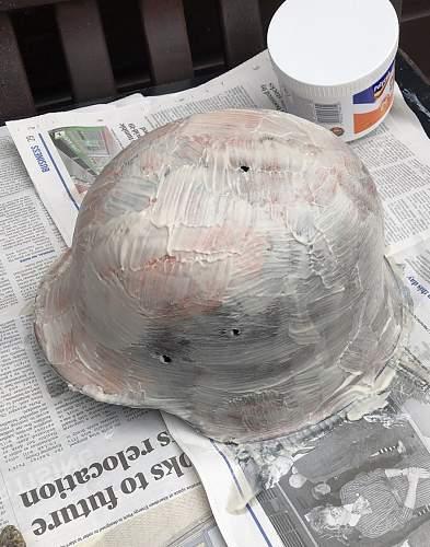 M42 Helmet Restoration