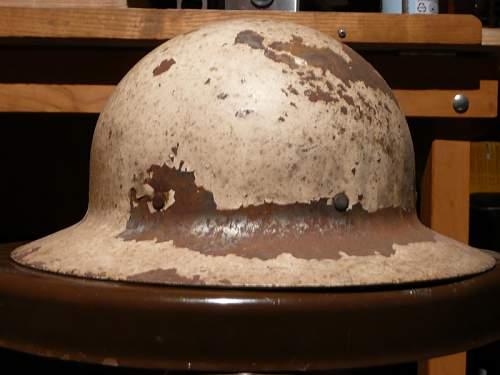 WWI (?) brodie helmet