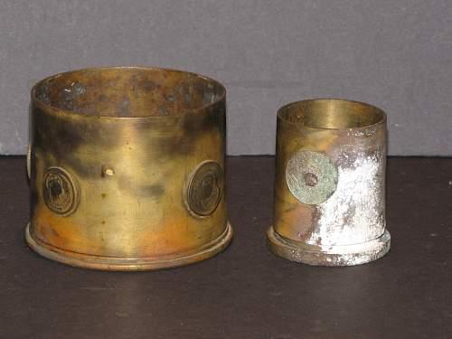 Artillery Shell Folk Art