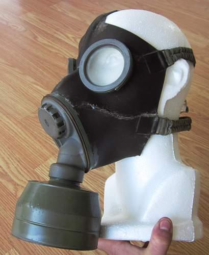 how do i preserve and glue brittle latex/plastic ? (gasmask)