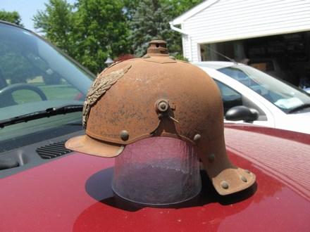 Help in the restoration of a  Jager zu Pferde helmet shell