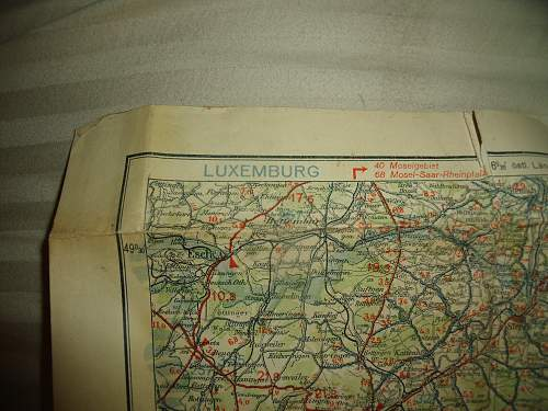 How should I repair this old map?