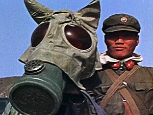 WWII Japanese Horse Gas Mask