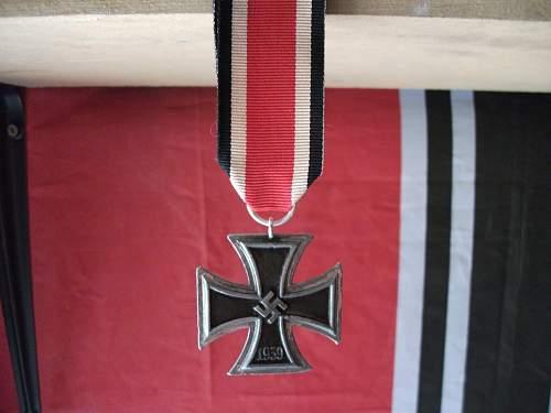 Iron Cross restoration