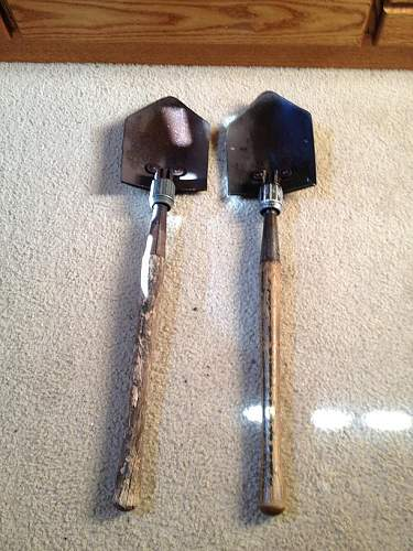 Need help with some folding shovels