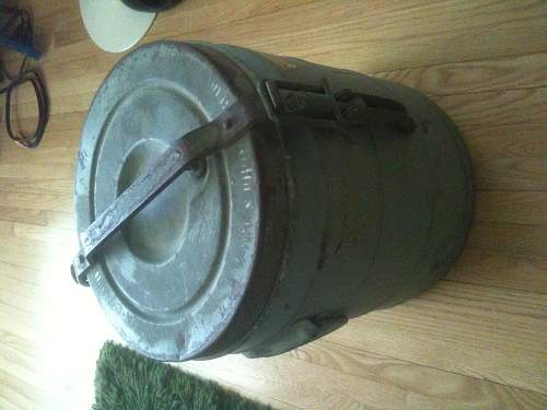 hot/cold container